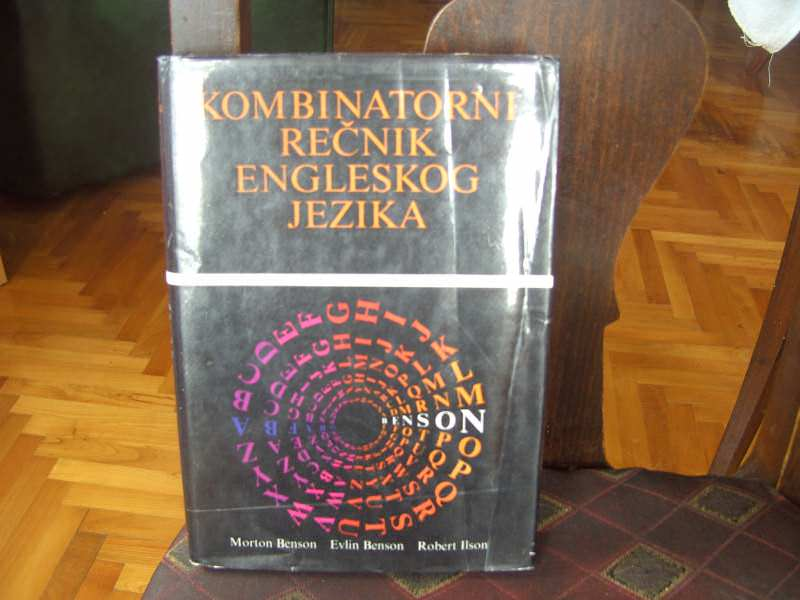 Kombinatorni rečnik engleskog jezika, Morton Benson