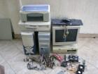 Kompjuteri,monitor i skener sa stampacem