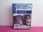 Komplet 5 duplih PVC DVD omota za diskove - NOVO!
