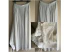 Komplet, RUČNI RAD, duga suknja sa faldicama i majčica