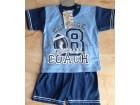 Komplet majica i sorc za decake,velicina-74 Plava