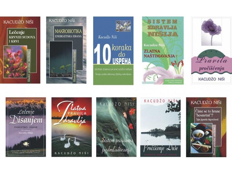 Komplet od 10 knjiga Kacudžo Nišija