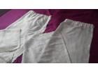 Komplet od 2 prelepe zavese bele boje, kao NOVE 217*100