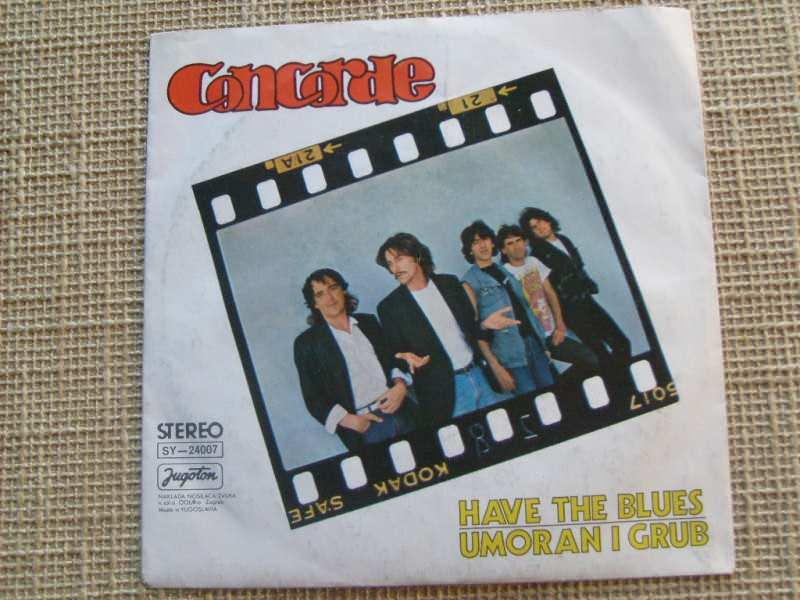 Konkord - Have The Blues/Umoran I Grub