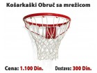 Košarkaški obruč sa mrežicom