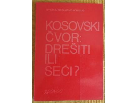 Kosovski čvor: Drešiti ili seći ?