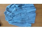 Kosulja z. dug rukav, 65% pamuk, modre boje, vel. XL