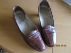 Kožna braon cipela - br. 38