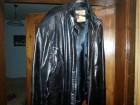 Kozna jakna crna