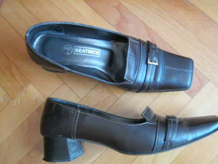 Kozne braon cipele br.36/24 cm.
