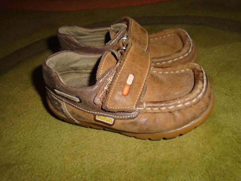 Kožne cipele NU-BE-BE vel.23 (13,4-14cm)