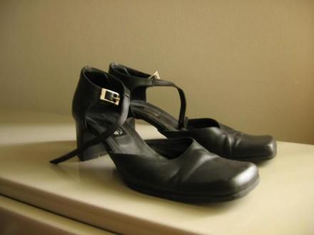 Kožne cipele na kopčanje br.37