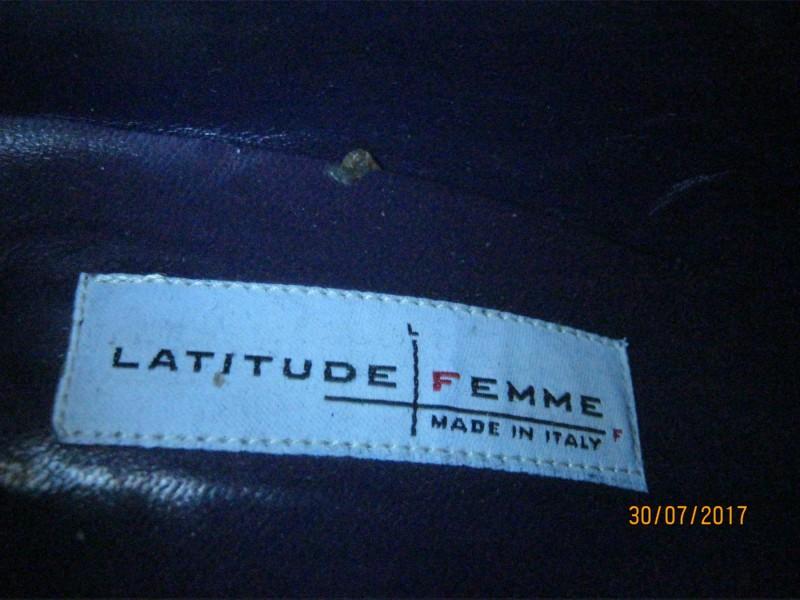 Kozne italijanske cizme, br. 39 Latitude Femme