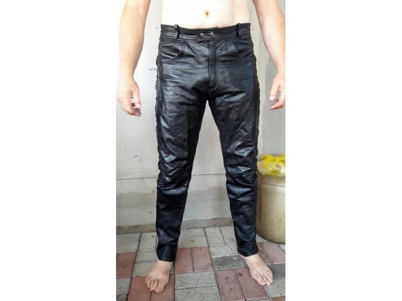 Kozne moto pantalone