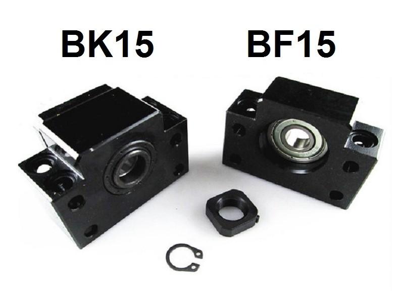 Krajnji lezajevi sa kucistem za CNC osovine BF15 i BK15