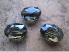 Kristal 12x9x6mm oval plavozeleni