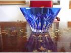 Kristalna činija, plava