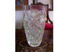 Kristalna vaza 21x12 cm super očuvana.