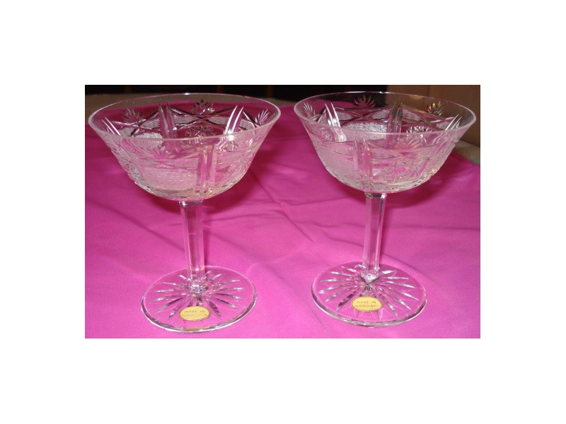 Kristalne čaše za šampanjac