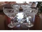 Kristalne čaše za vino, šampanjac itd...