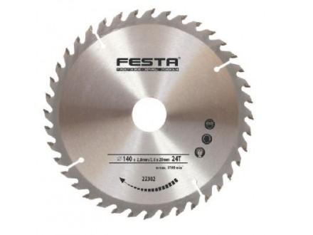 Kružna testera za drvo - vidia 180 - 20 mm 24z