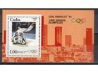 Kuba,LOI-Los Anđeles `84. 1984.,blok.čisto
