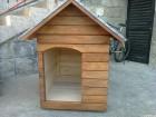 Kućica za pse od punog drveta