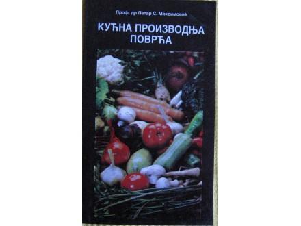 Kućna proizvodnja povrća   Maksimović   Petar