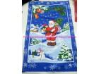 Kuhinjska krpa Deda Mraz pamucna 45x70cm
