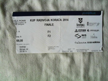 Kup Radivoja Koraca finale , 09.02.2014.
