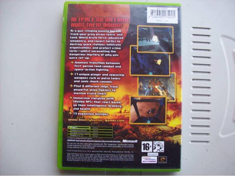 Kutija za Xbox igricu MACE GRIFFIN BOUNTY HUNTER