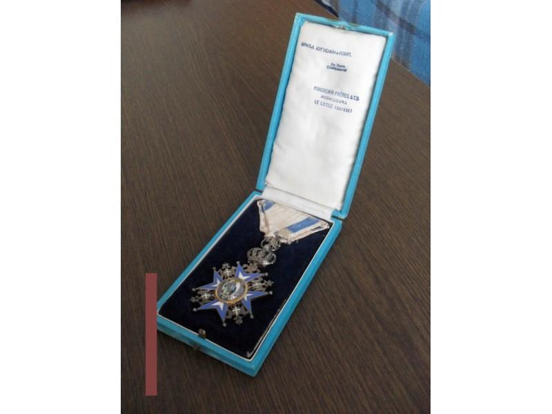 Kutija za orden Svetog Save