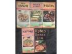 Kuvarske čarolije 5 knjiga