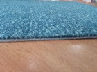 Kvadratni tepison,svetlije plavo 47x47cm