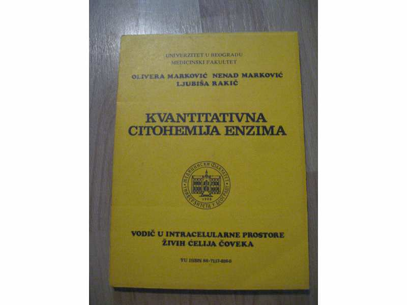 Kvantitativna citohemija enzima