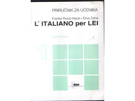 L'Italiano per Lei 1 -(priručnik za učen.) Hace / Zaina