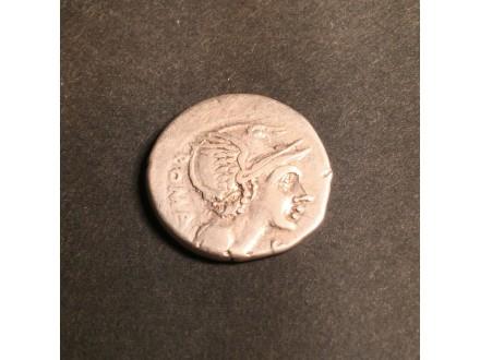 L. Flam Cilo - Srebrni denar 108/9 pne.
