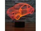 LAMPA - 3D LED LAMPA, AUTO