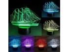 LAMPA - 3D LED LAMPA, BROD