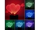 LAMPA - 3D LED LAMPA SRCE