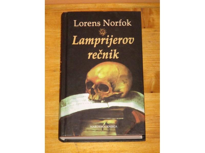 LAMPRIJEROV REČNIK - Lorens Norfok (nova)