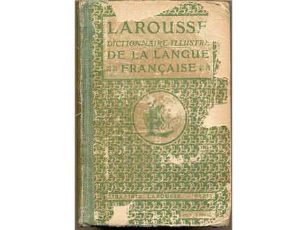LAROUSSE DICTIONAIRE ILLUSTRE DE LA LINGUE FRANCAISE