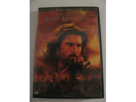 LAST SAMURAI - Tom Cruise - (2 dvd) - DVD original