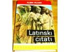 LATINSKI CITATI - Albin Vilhar