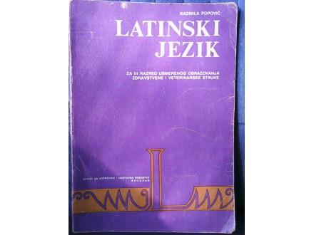 LATINSKI JEZIK ZA  PRVI RAZRED SREDNJE