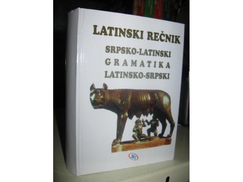 LATINSKO SRPSKI - SRPSKO LATINSKI RECNIK