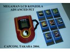 LCD konzola - Mega Man Advanced Pet Capcom,Takara 2004.