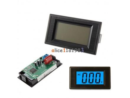 LCD voltmetar AC 80-500V
