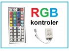 LED Kontroler sa daljinskim za RGB traku - 44 tastera