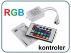 LED Kontroler sa daljinskim za RGB traku